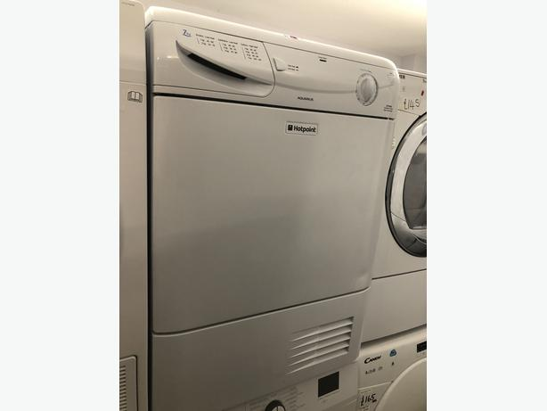 PLANET APPLIANCE- HOTPOINT 7KG CONDENSER DRYER- WITH 3 MONTHS GUARANTEE