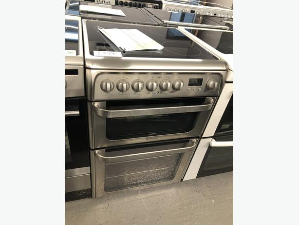 PLANET APPLIANCE- GRADED HOTPOINT 60CM ELECTRIC COOKER - WITH GUARANTEE