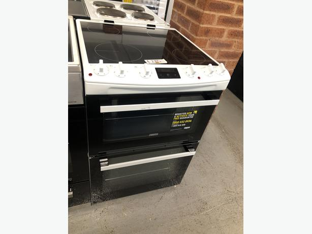 PLANET APPLIANCE- GRADED ZANUSSI 60CM ELECTRIC COOKER- WITH GENUINE GUARANTEE
