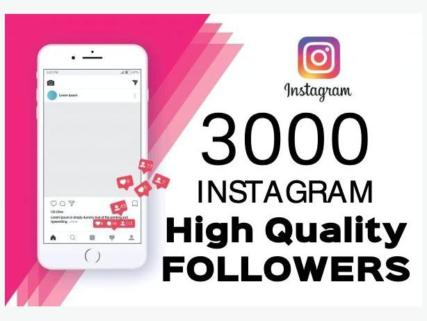 Advantages of buying 3000 Instagram Followers