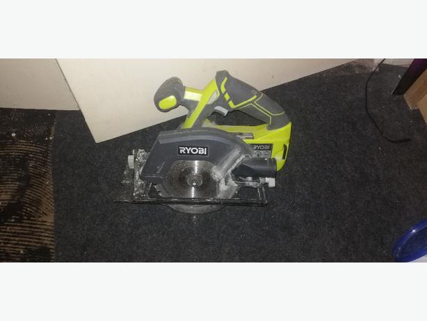 Ryobi circular saw - bare tool - £30 - delivery -