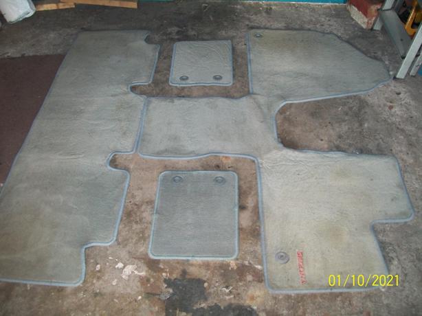 Full set of kia sedona mats need a clean