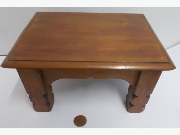Miniture Wooden Table