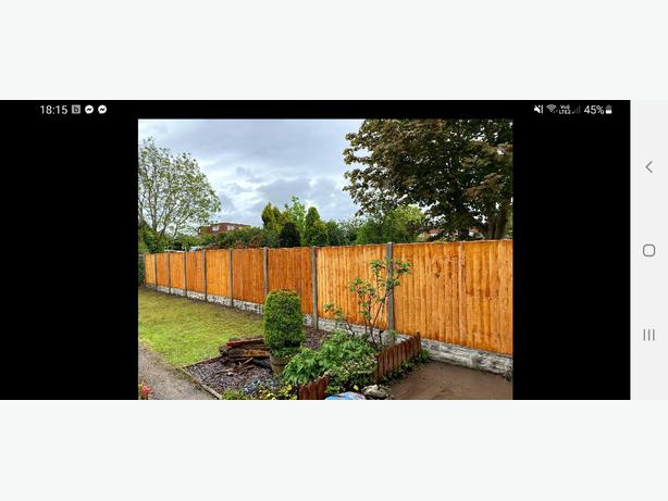 10 BAYS OF FENCING SPECIAL OFFER