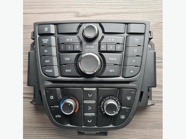 09-15 VAUXHALL ASTRA J MK6 RADIO CD PLAYER/HEATER A/C CONTROL SWITCH 13360091