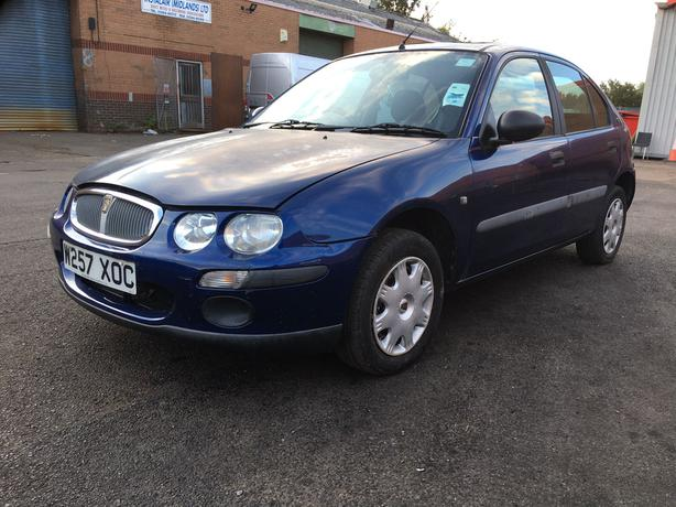 2000, 4 door Rover 25 1.4 petrol, manual with sunroof