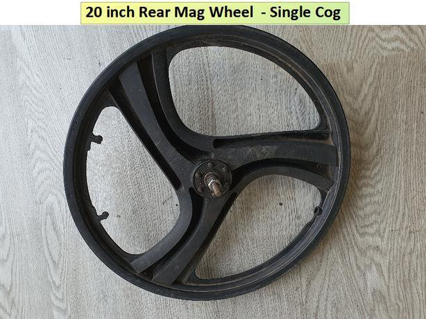 20 inch Rear Mag Wheel. Single Cog.