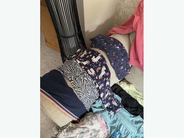 Girls clothing bundle aged 6-7 years
