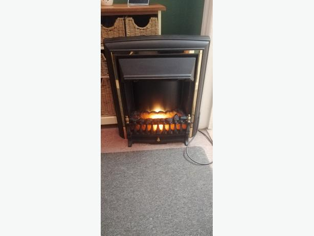 electric fire - coal effect - can deliver - £20 -