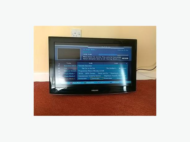 32 inch samsung hd  tv+freeview+remote+DELIVERY