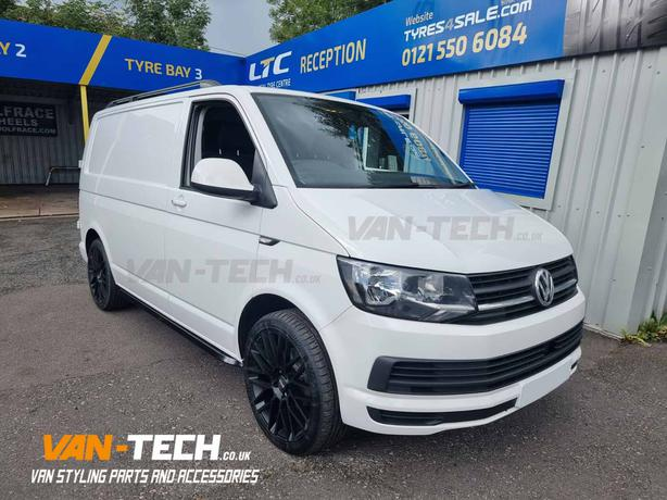 VW Transporter T6 parts Side bars, Alloy Wheels and roof rails!
