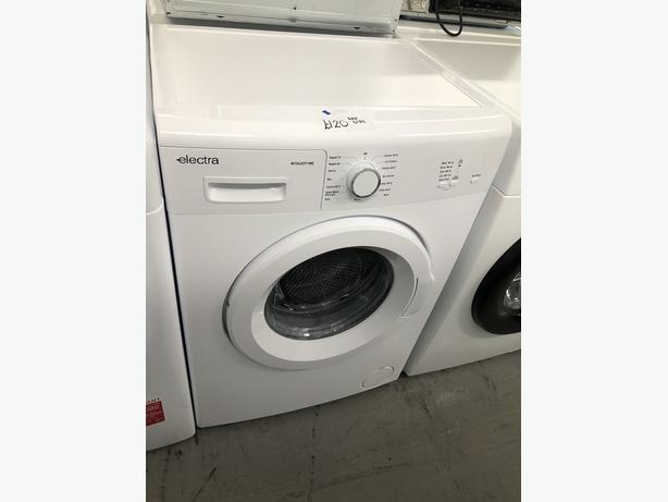 PLANET APPLIANCE- GRADED ELECTRA 6KG WASHING MACHINE- WITH 6 MONTHS GUARANTEE