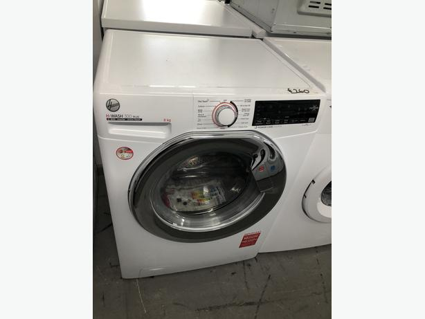 PLANET APPLIANCE- GRADED HOOVER 8KG WASHING MACHINE- WITH 6 MONTHS GUARANTEE
