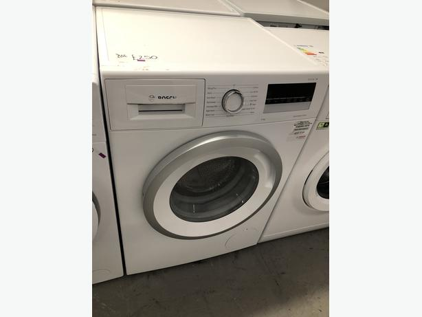 PLANET APPLIANCE- GRADED BOSCH 8KG WASHING MACHINE- WITH 6 MONTHS GUARANTEE