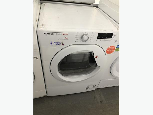 PLANET APPLIANCE- HOOVER 9KG CONDENSER DRYER- WITH 3 MONTHS GUARANTEE