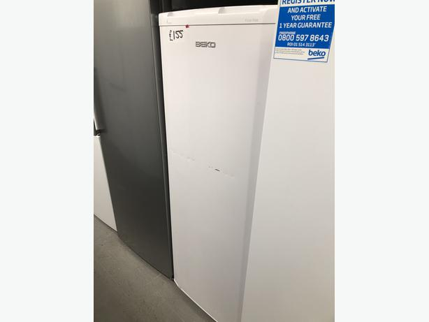 PLANET APPLIANCE- BEKO TALL FREEZER- WITH 3 MONTHS GUARANTEE