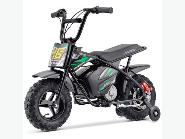 24v 350w electric kids monkey bikes 2 speed suit 3-8 yrs new