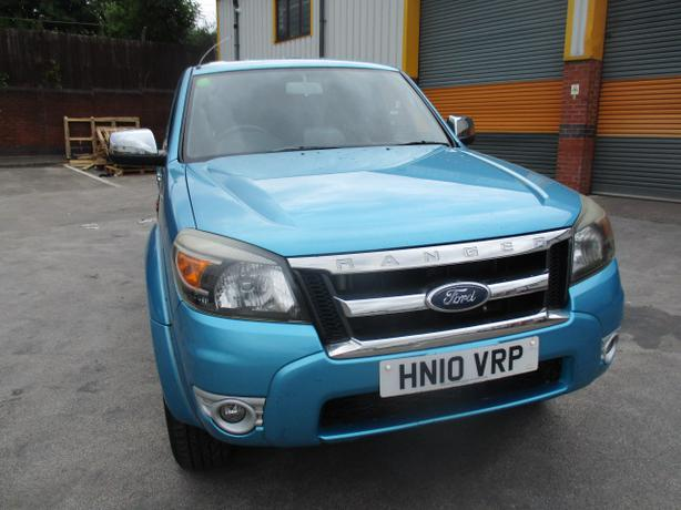 FORD RANGER ,4X4 DOUBLE CAB, TDCI 2010, TRUCKMAN TOP, TOW BAR ETC, DRIVES WELL