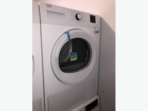 PLANET APPLIANCE- GRADED BEKO 8KG CONDENSER DRYER- WITH 6 MONTHS GUARANTEE
