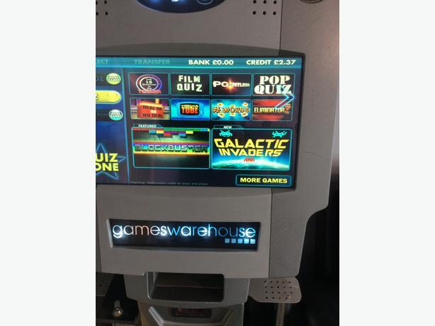 Paragon 3i  pub quiz machine