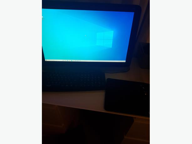 HP All in one Desktop PC with Keyboard, mouse, mat etc.