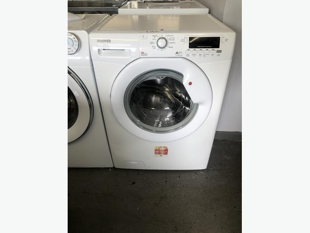 PLANET APPLIANCE- HOOVER 8KG WASHING MACHINE- WITH 3 MONTHS GUARANTEE