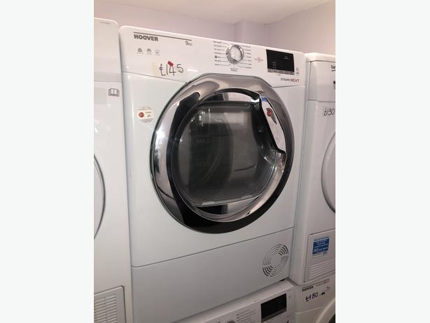 PLANET APPLIANCE-HOOVER 9KG CONDENSER DRYER- WITH 3 MONTHS GUARANTEE