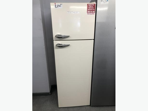 PLANET APPLIANCE- GRADED MONTPELLIER FRIDGE FREEZER- WITH 6 MONTHS GUARANTEE