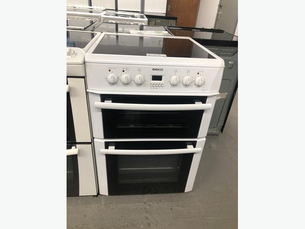 PLANET APPLIANCE- BEKO 60CM ELECTRIC COOKER- WITH 3 MONTHS GUARANTEE