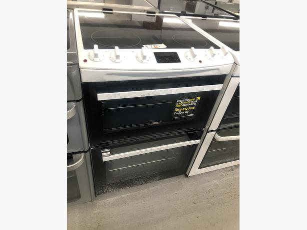 PLANET APPLIANCE- GRADED ZANUSSI 60CM ELECTRIC COOKER- WITH 3 MONTHS GUARANTEE