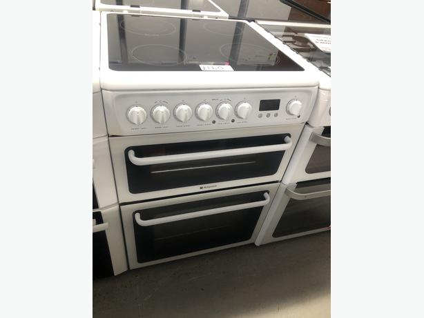PLANET APPLIANCE- HOTPOINT 60CM ELECTRIC COOKER- WITH 3 MONTHS GUARANTEE