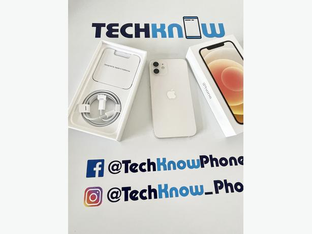Apple iphone 12 128GB unlocked Boxed White £549.99
