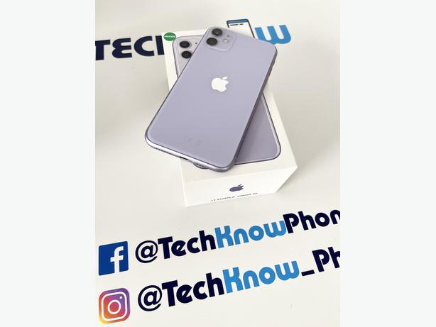 Apple iPhone 11 128GB unlocked Purple £349.99