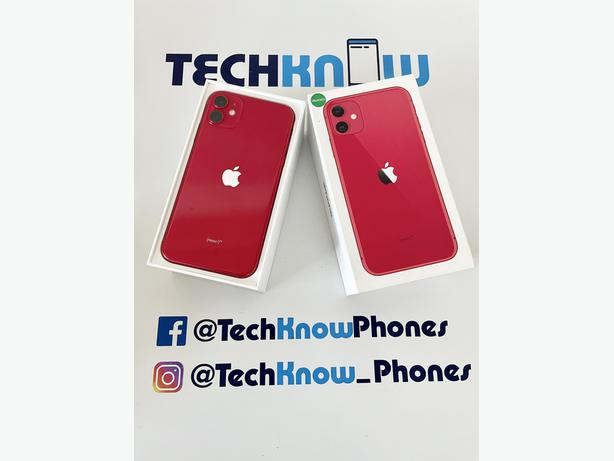 Apple iPhone 11 64GB unlocked Red Boxed £349.99