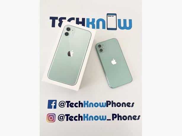Apple iPhone 11 64Gb unlocked Green Boxed £329.99