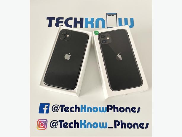Apple iPhone 11 128Gb unlocked Black Boxed £349.99