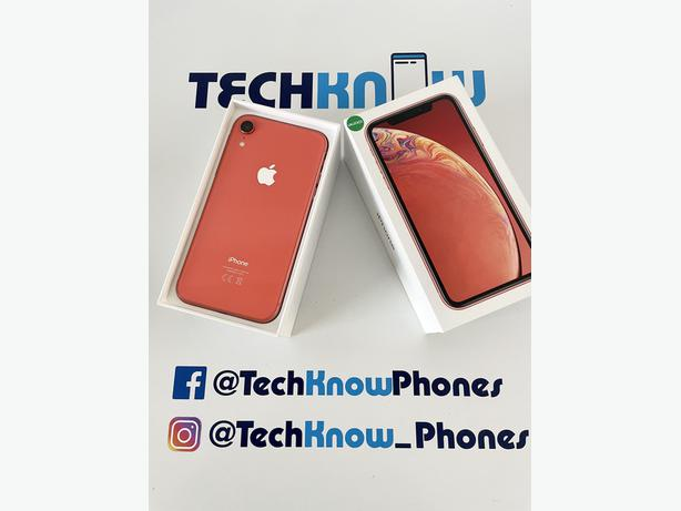 Apple iPhone XR 64GB unlocked Coral Boxed £249.99