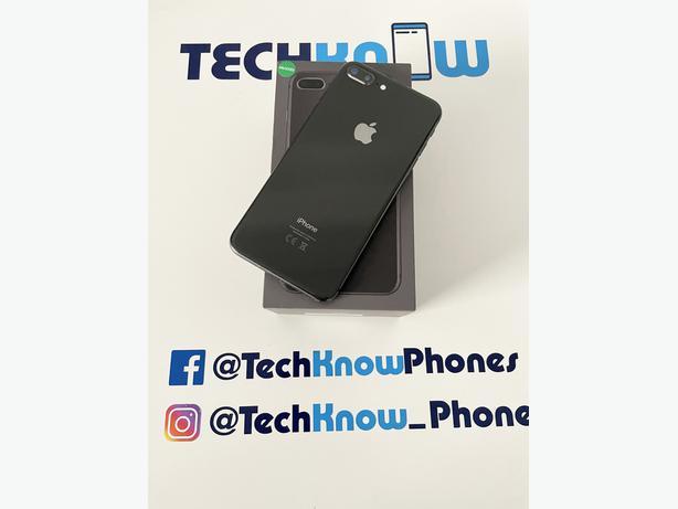 Apple iPhone 8 Plus 64GB unlocked Space Grey £199.99