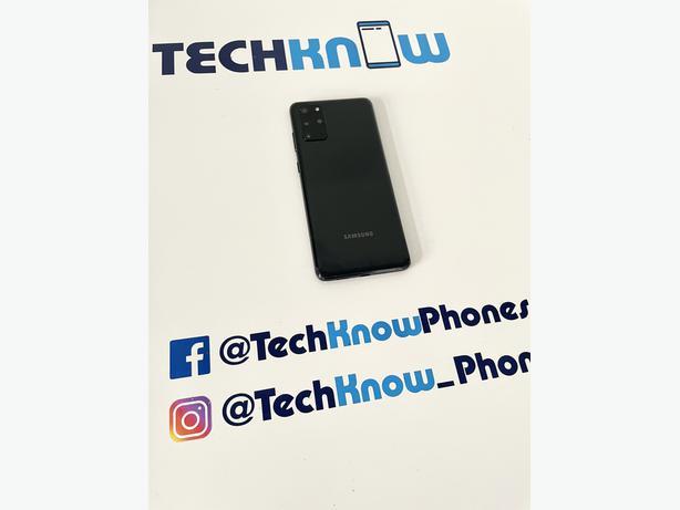 Samsung S20 Plus 128GB unlocked Black Unboxed £349.99