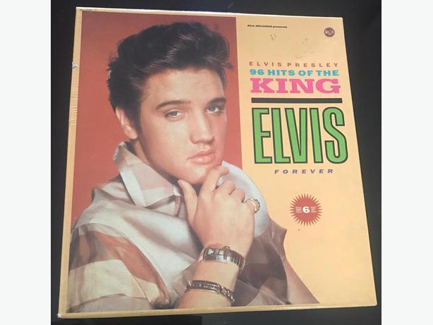 Elvis Presley 96 Hits of the King | Elvis Forever 6 Cassettes