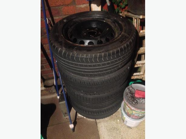 volvo steel wheels