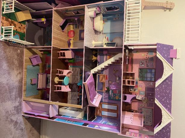 Ivy's Wooden Doll House