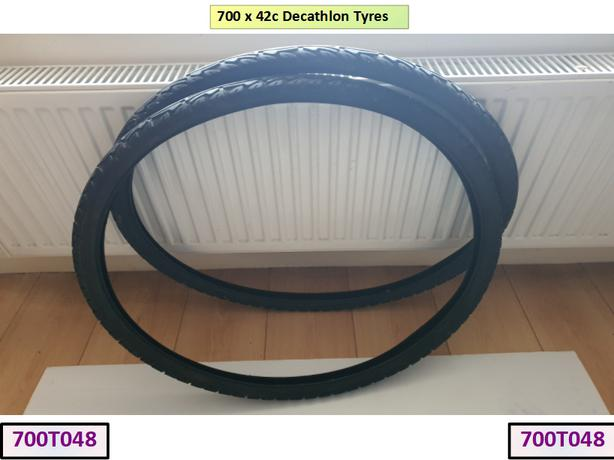 700 x 42c Decathlon Tyres.