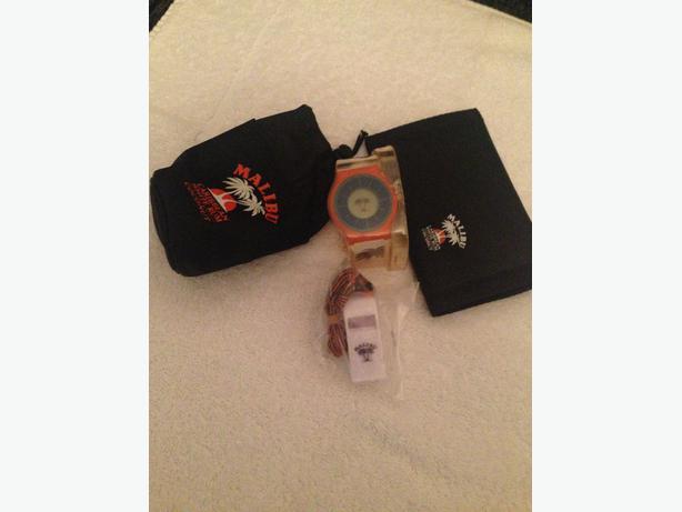 Malibu branded items x4