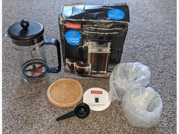NEW Bodum coffee maker set