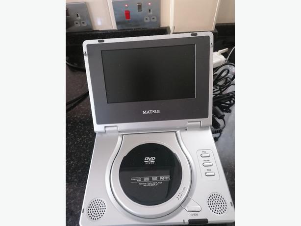 Matsui portable DVD Player