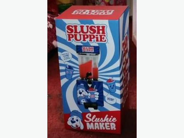 Slush puppie maker. Brand new