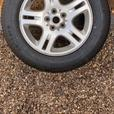 RANGE ROVER VOGUE SPARE WHEEL with NEW & UNUSED Tyre