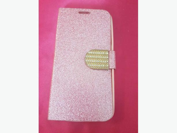 Pink glitter mobile case