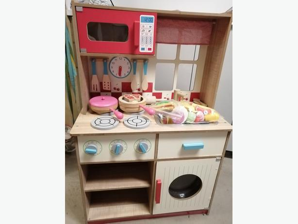 Kids kitchen unit 57cm x 90cm  with accessories collection only